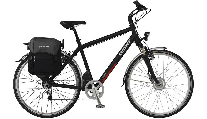 Giant Twist Freedom CS Deluxe Elcykel svart - till fenomenalt pris på Bikester